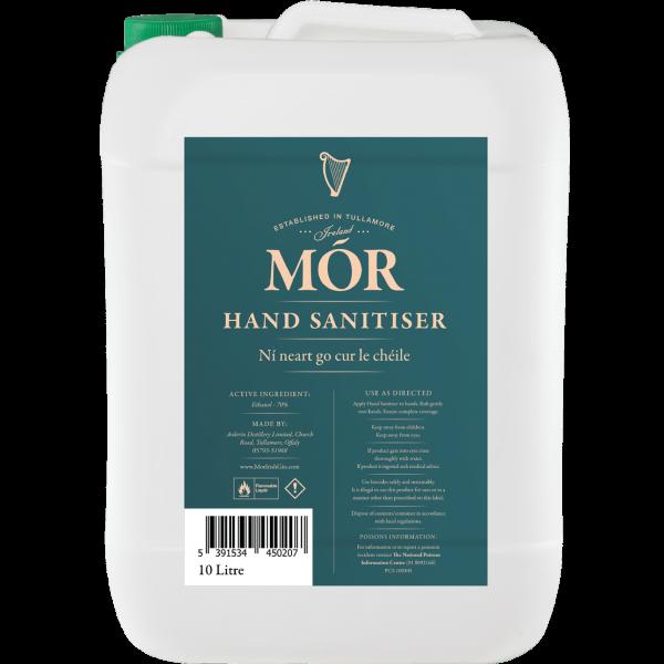 Wholesale 10L - Mór Hand Sanitiser x 1 Jerrycan